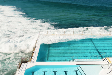 Swimming pool in Bondi Beach
