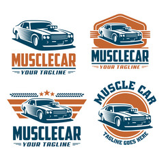 Muscle Car Logo Photos Royalty Free Images Graphics Vectors