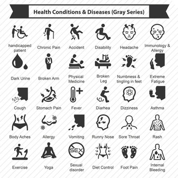Health Conditions & Diseases (Gray Series)