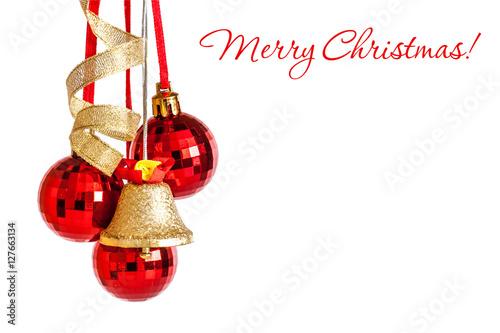 How To Decorate Jingle Bells Extraordinary Christmas Holidays Greeting Card Mockupballs Jingle Bells Inspiration Design