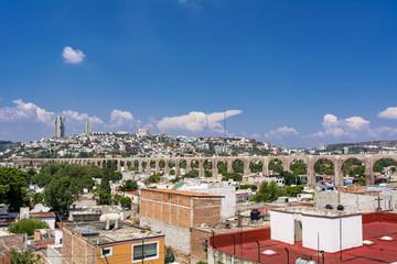 Fototapete - ケレタロの水道橋