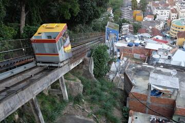 Tram des Favelas, Brésil