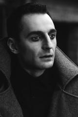 Man gothic portrait