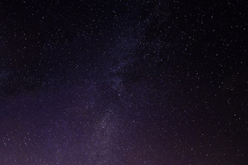 A faint milky way from the Betws Mountain, Wales