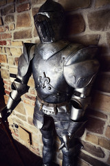 ancient medieval armor  iron made