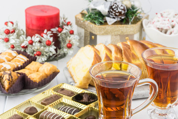 Christmas tea party.