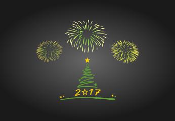 Christmas Tree Fireworks