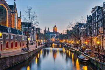 Church of Saint Nicholas in Amsterdam city, Netherlands