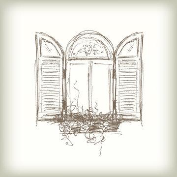 Scribble Vector Window