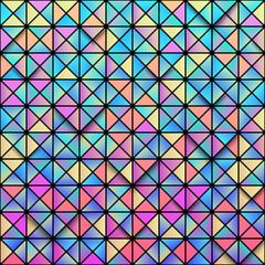 Geometric pattern background. Trendy pastel colors. Eps10 vector illustration.