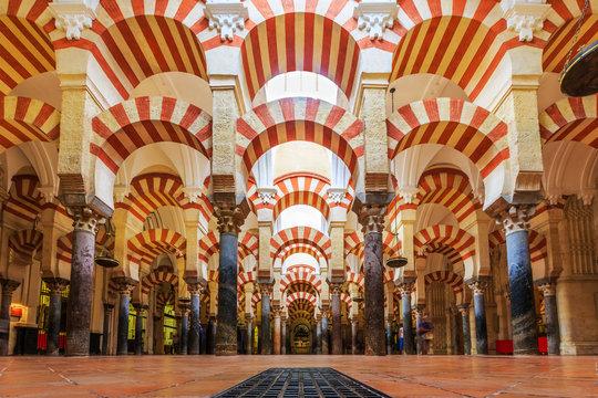 Mezquita Cathedral in Cordoba, Spain.