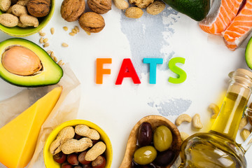 Unsaturated fats food