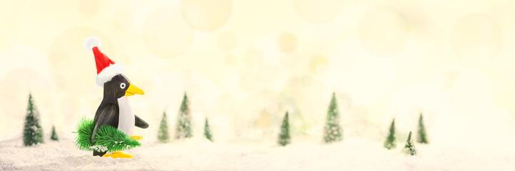 Penguin, Christmas Card