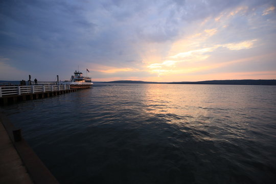 Sunset from Madeline Island
