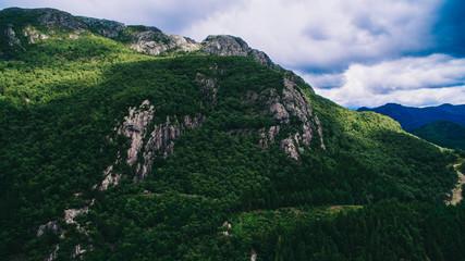 Norway, aerial photos, landscape, sea, mountains,