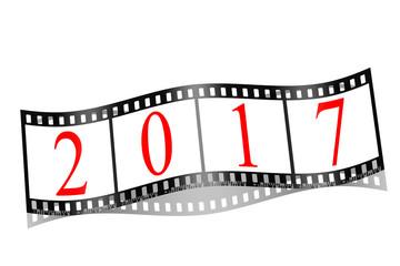 2017, Filmstreifen, Neujahr