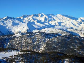 Massif of La Maladeta. Pico Aneto