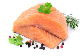 Fisch Lachs Kräuter