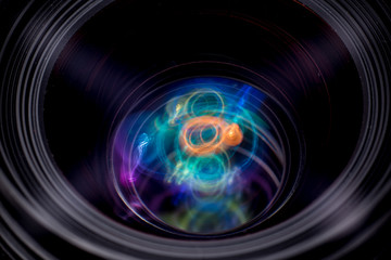 Magic in lens