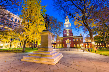 Fotomurales - Independence Hall in Philadelphia
