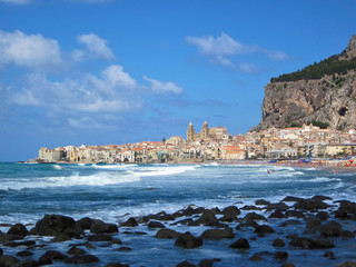 Italy sicily - city cefalu