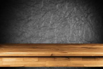 Fotoväggar - Wooden table background