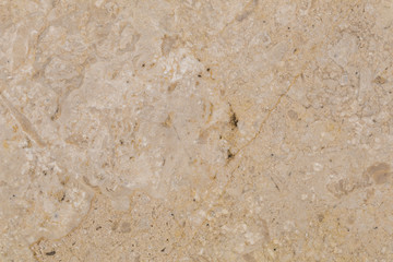 natural beautiful marble in light beige colors