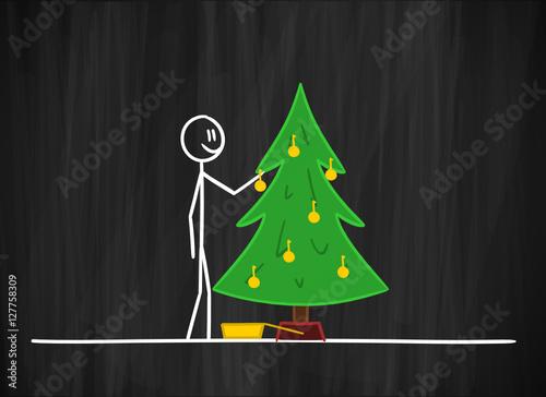 tmk christbaum schm cken i stockfotos und lizenzfreie vektoren auf bild 127758309. Black Bedroom Furniture Sets. Home Design Ideas