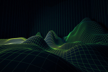 Green grid waves