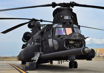 CH-47 Chinook Army Helicopter