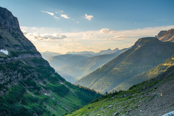 Wall Mural - Glacier National Park valley