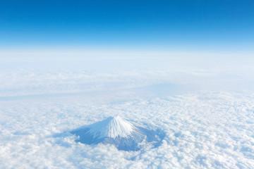 Wall Mural - 富士山上空