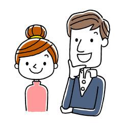 夫婦:笑顔