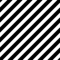 Seamless black diagonal lines pattern vector