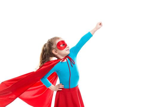 Girl superhero.