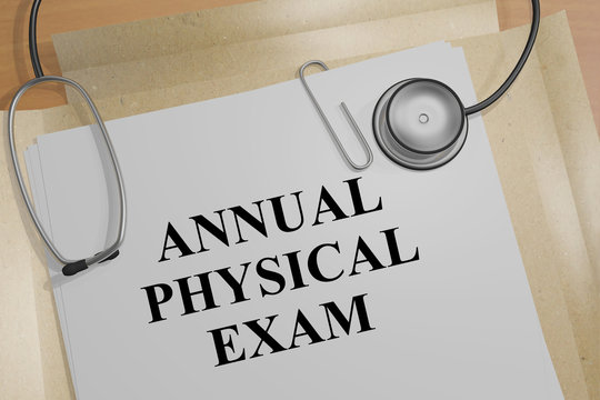 Annual Physical Exam - medical concept
