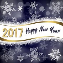 Greeting card. 2017 Happy New year (bn)
