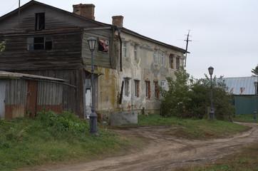 Sviyazhsk, a town on the island, the island-city, old, monastery, church