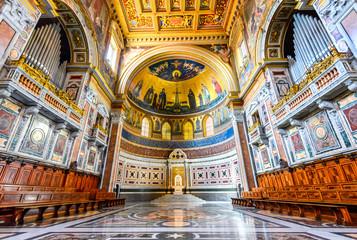 Rome, Italy - Lateran Basilica, Papal Cathedral Wall mural