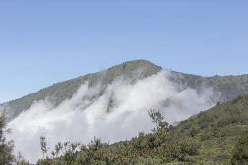 General landscape around Mt Bromo, Indonesia