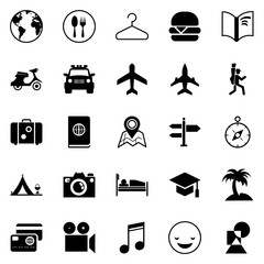 Transport and traveling icons for Web and Mobile App.