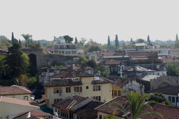 Old Town Kaleici in Antalya, Turkey.