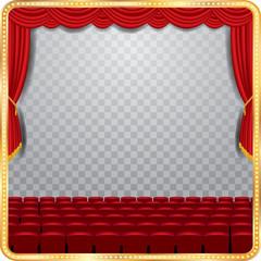 transparent stage auditorium