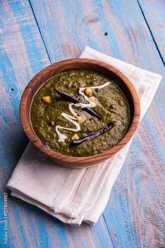 Makki di roti and sarson ka saag famous north indian food stock makki di roti and sarson ka saag famous north indian food forumfinder Choice Image
