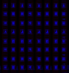Deep blue abstract background.