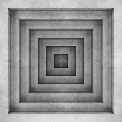 Geometric concrete background. 3D rendering