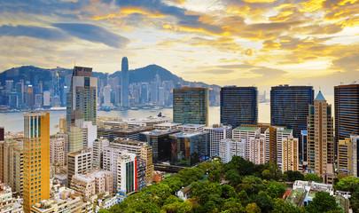 Tsim Sha Tsui downtown