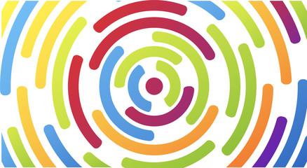 onde, comunicazione, satellite, cerchi, concentrici