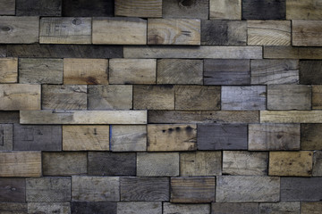 stained Block wood background
