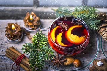 Weihnachten Tee